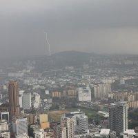 молния в большом городе :: Анна Евтухова