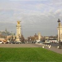 Вид на мост Александра 3 - Париж :: Kamyshlov Victor