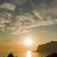Солнце садится :: Игорь Кузьмин