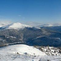 зимние горы :: Евгений Золотухин