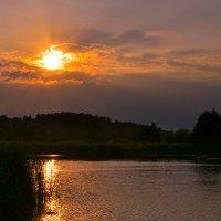 Рыбалка на закате :: Андрей Афанасьев