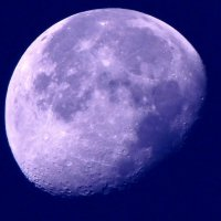 луна в 5 часов утра :: Люба Вылывана