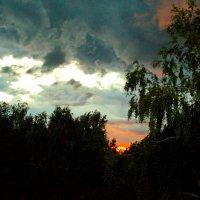 Закат вчера. :: Sergey Serebrykov