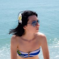 Девушка на пляже :: Андрей Воскобойников