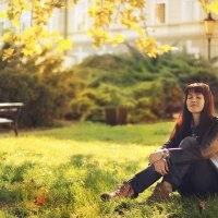 Теплым вечером в Праге :: Алена Бадамшина