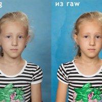 сравнение файлов jpeg и raw на canon 60d :: Олег Окселенко
