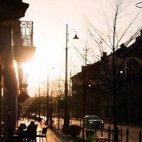 Весенний закат :: Aleksandra Rastene
