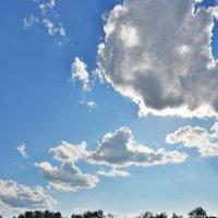Солнечные облака :: юрий Амосов