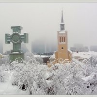 Туманное зимнее утро. :: Jossif Braschinsky
