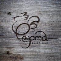 """Логотип кафе-бара """"Ферма"""" :: Alexey Pankov"""