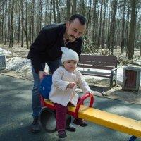 Я и папа :: Филипп Махов