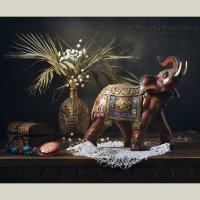 Мой любимый индийский слон :: Татьяна Карачкова