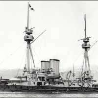 "French coastal defense Ironclad  battleship ""Caiman"". :: Александр"
