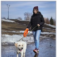 Дама с собачкой :: Олег Терёхин