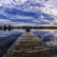 Wonderful evening at the lake :: Dmitry Ozersky