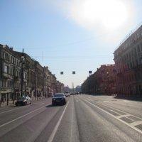 Невский проспект утром воскресенье :: Митя Дмитрий Митя