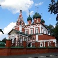 Гарнизонный храм Михаила Архангела в Ярославле :: Надежда