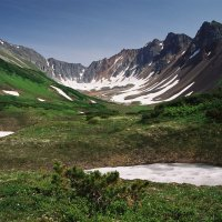 Чаша горы Летняя Поперечная. :: Валерий Давыдов