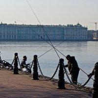 Утренние рыбаки :: Елена