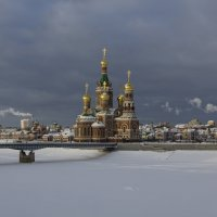 Вид на храм Благовещения Пресвятой Богородицы в Йошкар-Оле. :: Анатолий Грачев