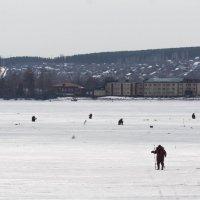 Последняя зимняя рыбалка :: Исаков Александр