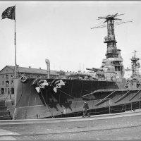 "Argentine Navy battleship ""Moreno"", Brooklyn Navy Yard, New York City, October 1914.. :: Александр"