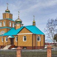 Нугушская церковь Святой Варвары Скворчихинской :: Любовь Потеряхина