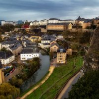 Пасмурный Люксембург... :: Александр Вивчарик
