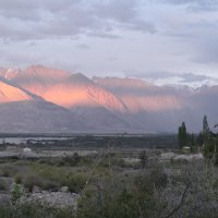 Закат в Гималаях (долина Нубра) :: Evgeni Pa