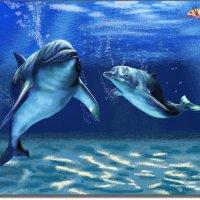 В морских глубинах.  (работа выполненная на графическом планшете Huion.) № 15 :: Anatol Livtsov