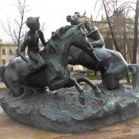 Мальчики, купающие коней :: Ирина Via