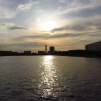 Вечер на пруду :: Андрей Лукьянов