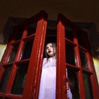 Портрет с красными воротами :: Женя Рыжов