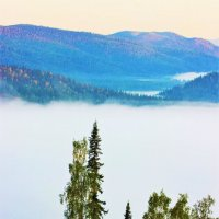Пред озером тумана :: Сергей Чиняев