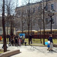 На празднике Московского трамвая. :: ТаБу