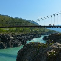 На Ороктойском мосту. :: Валерий Медведев