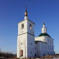 Церковь Николая Чудотворца В Комарице.(Николаевская церковь) :: Андрей Дурапов
