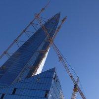 Когда  уберут  башенные краны..башня не упадёт..)?? :: tipchik