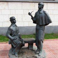 Памятник Шерлоку Холмсу и доктору Ватсону :: Алексей Виноградов