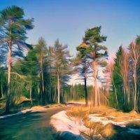 весна :: Ольга Cоломатина