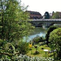 Весна..любимое  место...тихо несет свои воды  Пегнитц... :: backareva.irina Бакарева