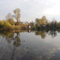 Апрель в деревне :: Вячеслав Маслов