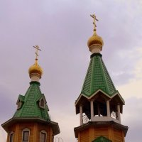 Купола Сретенского храма . :: Мила Бовкун