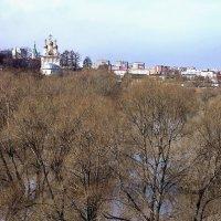 Рязань.Разлив реки Трубеж у Кремля.Апрель.2018 год. :: Лесо-Вед (Баранов)