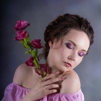 девушка цветок :: Елена Князева