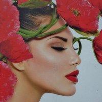 Вот  такой  красивой   и привлекательной   бывает   вывеска на  цветочном   магазине... :: backareva.irina Бакарева