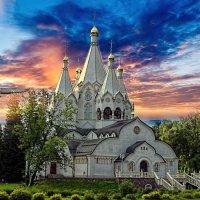 Храм святых новомучиников и  исповедников Российских :: Валерий
