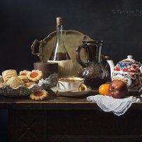 Чай с печеньем №1 :: Татьяна Карачкова