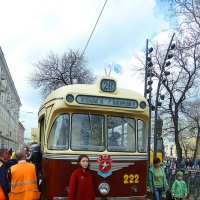 На выставке трамваев. :: константин