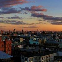 Полёт над Москвой... :: владимир